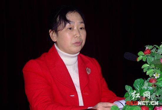 湖南省农业厅系统举行优秀女职工事迹报告会