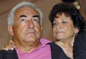 "IMF总裁之妻驳斥性侵论为夫喊冤坚称其""清白"""