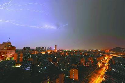 关于预防雷电雨的黑板报