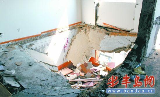 麦岛家园爆炸事故已1个月近30户居民仍住宾馆