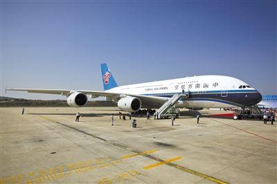 随后,南航安排代飞航班飞机a330.图片