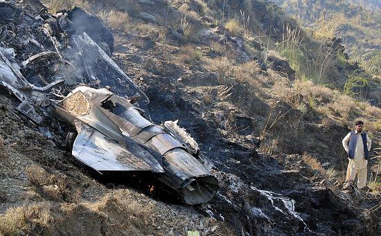 证实坠毁飞机的型号
