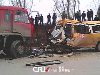 甘肃省正宁县幼儿园校车事故死亡人数上升至20人