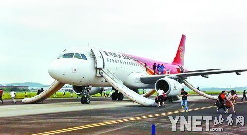 吉祥航空从上海飞深圳的ho1111航班接到威胁