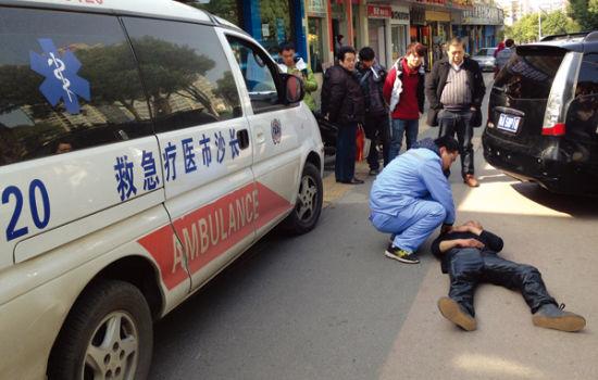 :07韶山南路120医疗急救车来了.)   红网长沙2月21日讯(滚动新闻