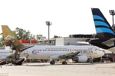 利比亚民航飞机(资料图)