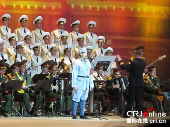 俄罗斯亚历山大红旗歌舞团新年献艺北京