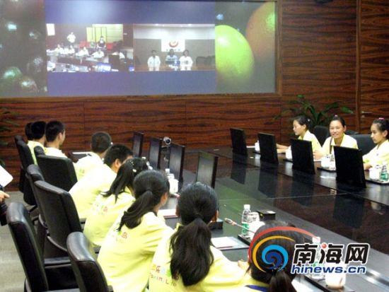 海航资助18名北京农民工学生乐游海南[图]
