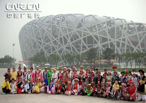 民族奥运小使者北京之旅 奥林匹克教育