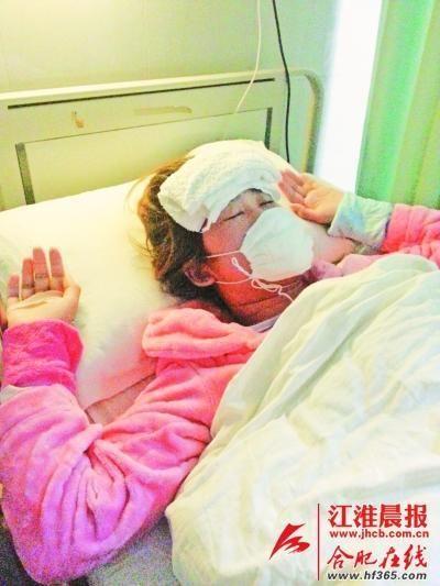 刘永梅患病后