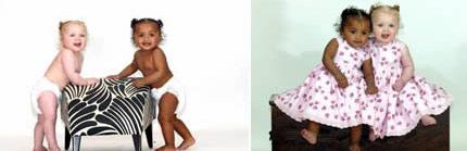 盘点全球最有趣的双胞胎:分离后有同样生活(组图)