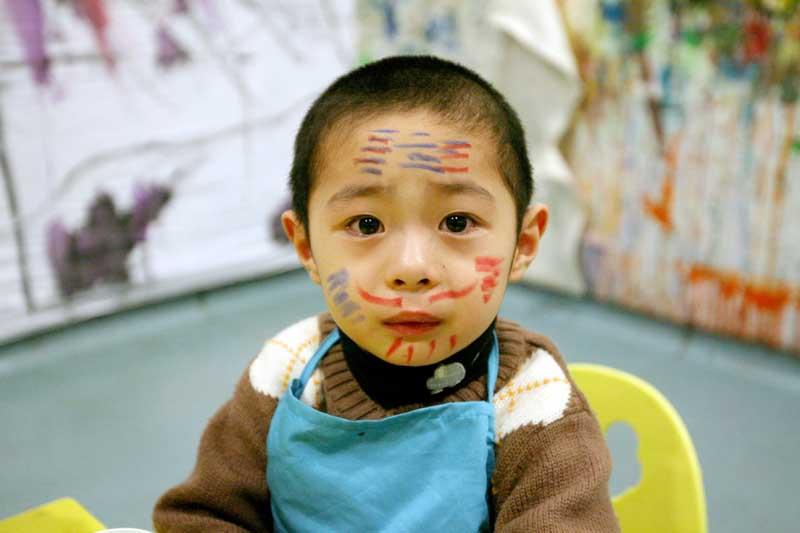 儿童怎么样化妆