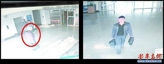 男扮女装入室行窃 被监控录下作案过程