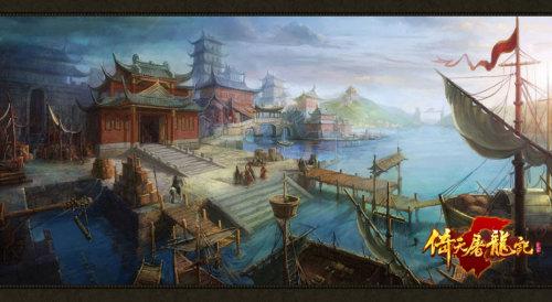 图5:精美原画展示江湖纷争
