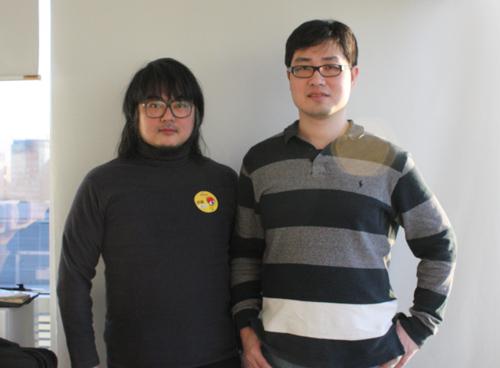 左侧:吴欣睿       右侧:蔡明宏