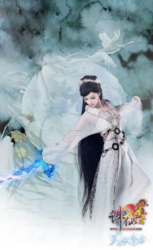 霖逍 小排演绎《诛仙2》史上最唯美手绘全集