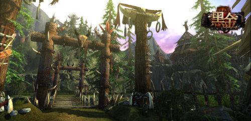 《黑金》游戏原画截图