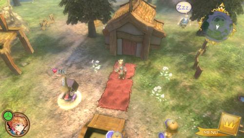 《国王与魔王与7位公主:新国王物语》最新游戏画面