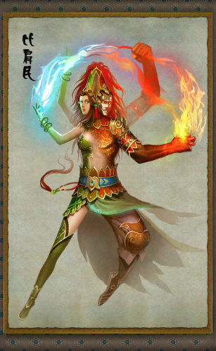 《天外飞仙》植入多种神话民族