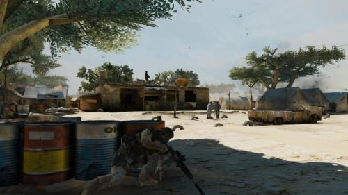 《幽灵行动4:未来战士》最新游戏画面
