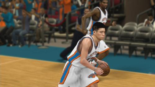 《NBA 2K12》林书豪游戏截图