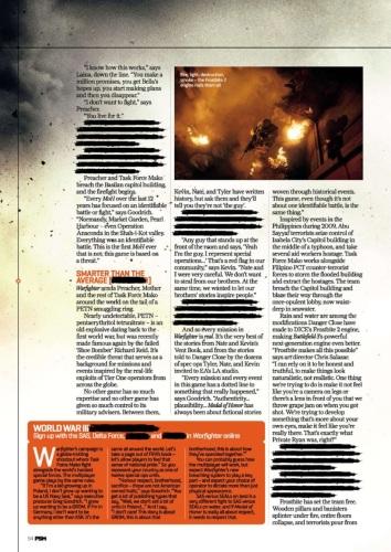《荣誉勋章:战士》最新杂志扫图