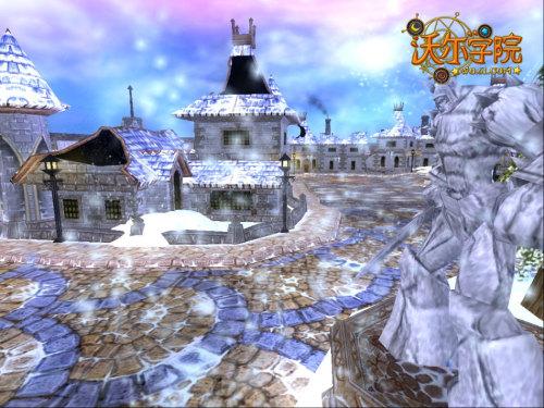 冰雪场景图