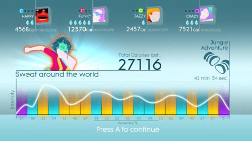 E3 2012《舞力全开4》最新游戏画面