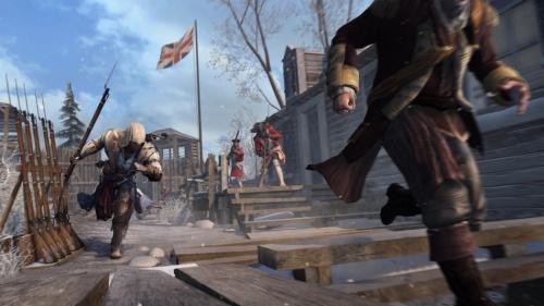 E3 2012《刺客信条3》新图