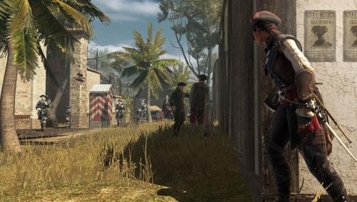 PSV独占《刺客信条3:解放》E3 2012游戏画面