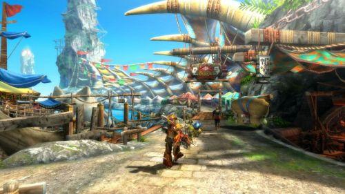 《怪物猎人3:终极》WiiU版最新游戏画面