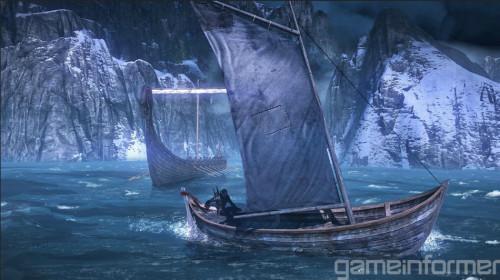 《巫师3:狂猎》首批游戏截图