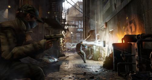 PS4大作《看门狗》最新游戏画面
