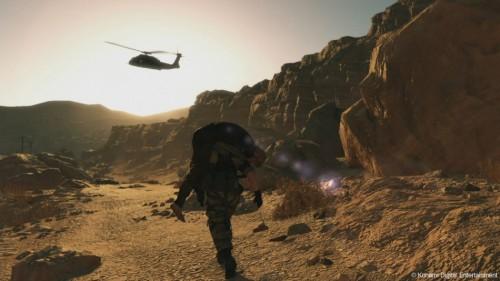 《合金装备5:幻痛》最新游戏截图