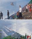 刘小东作品赏析:《三峡新移民》