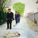 刘小东作品赏析:《要死的兔子和没事干的人》