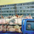 刘小东作品赏析:《猪》