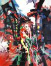 红鬃烈马2003年作114X146cm