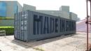 隋建国作品:Made in China, Steel container,1200x270x240cm,2011