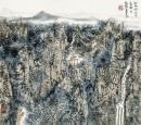 秋雨润山亭 40x45cm 2009年