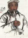 陕北老人 70cm×46cm 1962年