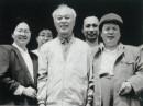 和古元先生在一起(左一为陈光健)