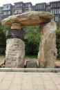 1998年 《门》金州五一公园 磨盘、石头