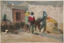 1977年 《金石滩习作》 油画