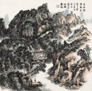 京西凤凰岭景色69×68.5cm2013