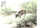 2012年萧平小品《清明时节》46x34