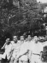 1962年9月与钱松岩、陈大羽、张文俊在泰山