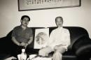 2000年为徐邦达老师作画贺寿