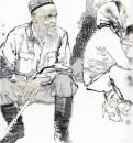 《新疆写生之一 》
