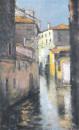 晨 80x50cm 2012年布面油画
